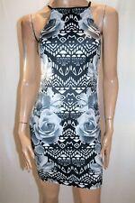 Ally Brand Aztec Floral Border Printed Dress Size 10 BNWT #SH100
