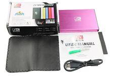 "(JKStor) :500GB External USB 3.0 Portable 2.5"" SATA External Hard Drive  - PINK"