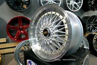 Neuf 18 inch 5X120 112 114.3 Profond bbs Rs Style Roues Alliage For BMW Audi Rim