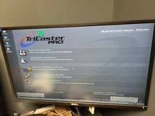 Tricaster Pro Video Computer Used, pulled from working environment.