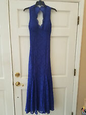Morgan & Co. Royal Blue Formal Dress size 8P - Used 5 Minutes for Photo Shoot