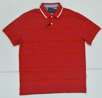 NWT Men's Tommy Hilfiger Short-Sleeve Slim Fit  Polo Shirt Red XXL