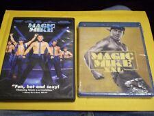 (2) Magic Mike Blu-Ray/DVD Lot: 1 & XXL   Channing Tatum  Matt Bomer  (1) NEW