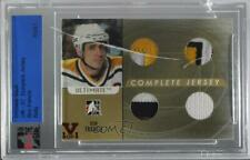 2006 ITG Ultimate Memorabilia 7th Edition Gold 14-15 Vault 1/1 Ron Francis HOF