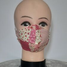Red Patchwork Facemasks