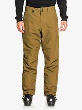 Quiksilver Mens  Ski Salopettes Snow Pants Estate Military Olive