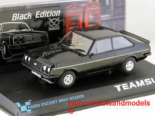 SRE07 Team Slot Ford Escort MKII RS2000-Negro Edición Limitada-Nuevo y Sellado