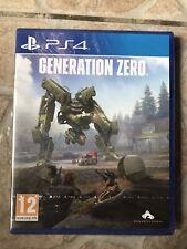 Jeu Sony Playstation 4 PS4 NEUF SOUS BLISTER Generation Zero FPS