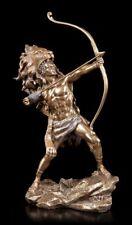 HERKULES Figura con arco - Estatua de Hércules - óptica Bronce Veronese