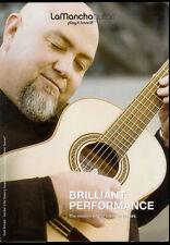 Super Rare LaMancha Guitar Brochure Quilate Rubi Romero Piedra Preciosa