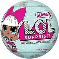 NEW LOL Surprise Glitter Under Wraps Glam Lil Sisters Series L.O.L. Bling Balls