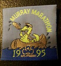 Girl Guides Murray Marathon 1995 ribbon strip badge