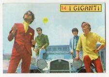 figurina CANTANTI PANINI 1968 REC numero 14 I GIGANTI