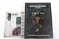 Warhammer 40000 8th edition hardcover rulebook and game accessories
