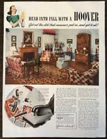 ORIGINAL 1940 Hoover Vacuum Print Ad Model 305