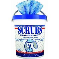 Citrus Hand Cleaner Wipes Towel Cloth SCRUBS 42272 6pk
