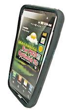Silikon TPU Handy Cover für LG P920 Optimus 3D Schwarz + 1x Displayschutzfolie
