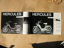 Hercules Prospekt Prima 2 S 3 4 Mofa Mokick Moped Reklameprospekt Mehrseitig gut