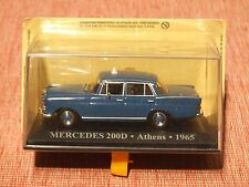 1965 MERCEDES 200D  Greek Taxi 1:43 SCALE
