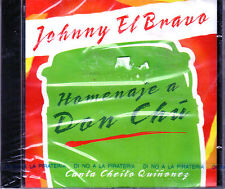 "JOHNNY EL BRAVO - ""HOMENAJE A DON CHU"" CANTA CHEITO QUIÑONES - CD"