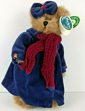 "The Bearington Collection Style 1392 Sandra 10"" Plush Bear Handmade Jointed"