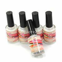 1/2/5 PCS 15ml White Glue Adhesive for Foil Sticker  Nail Art Transfer Tips DIY