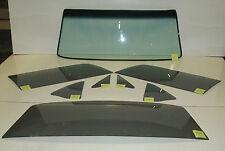 1969 1970 MUSTANG FASTBACK GLASS WINDSHIELD BOLT IN DOOR QUARTER BACK GB+YT SET