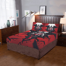 Hot Selling Custom Harley Quinn Duvet Cover Sets Pillowcase 3-Pieces Bedding Set