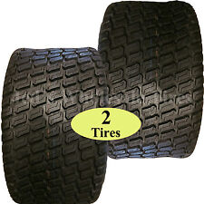TWO 16x6.50-8 TIREs for Zero Turn Riding Lawn Mower Garden Compact Tractor 4ply