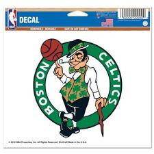 "Boston Celtics Wincraft NBA Logo 4.5"" x 5.75"" Multi Use Decal FREE SHIP!"