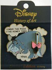 History of Art Winnie the Pooh & the Honey Tree 1966 Eeyore Disney Pin Le 2000
