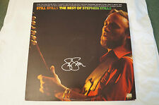 STEPHEN STILLS -The Best of Album - Personally signed by Stephen w / COA