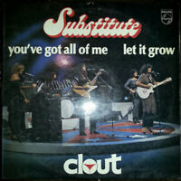 Clout - Substitute    [ 1978 Greek Vinyl LP Unplayed Mint Rock Funk Pop Disco ]
