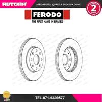 DDF1279-G Coppia Disco freno Chevrolet-Daewoo (FERODO)