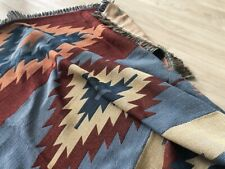 Large-XL Native Indian Tribal Cotton Sofa Blanket Throw Picnic Rug BOHO Tapestry
