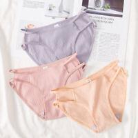 Womens Cotton Bikini Panties Girls Sexy Seamless Underwear Lingerie Panty M-XL