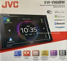 "NEW JVC KW-V960BW Car Receiver w/ 6.8"" Screen, Apple CarPlay & Android Auto"
