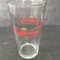 Vintage Budweiser King Of Beers Bow Tie Glass