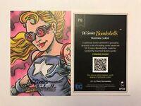2017 SDCC EXCLUSIVE Cryptozoic DC Comics Bombshells StarGirl Promo Card P8