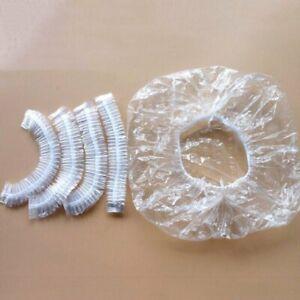 Hotel Salon Spa Travel Shower Disposable Hair Processing Caps Waterproof 100PCS