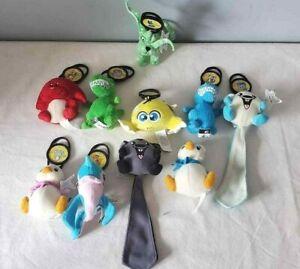 Neopets Happy Meal Plush Toy Stuffed Animal Lot of 10 (McDonalds 2005)