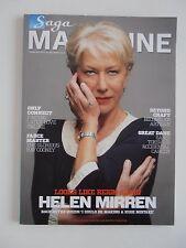Saga Magazine February 2013 Helen Mirren Edition