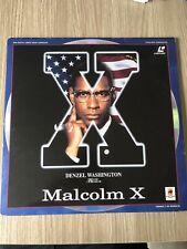 MALCOM X SPIKE LEE LASERDISC LASER DISC PAL FRANÇAIS RARE