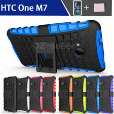 Unbranded/Generic Silicone/Gel/Rubber Mobile Phone Cases, Covers & Skins with Kickstand for HTC One