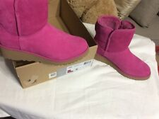 UGG- kristin pink suede womans boots- 5