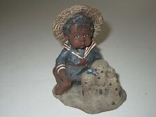 Sarah's Attic 1989 Limited Edition Tillie & Sand Castle Figurine Rare