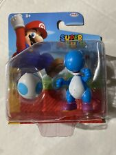 Jakks Pacific Super Mario LIGHT-BLUE YOSHI With Egg - New In Package