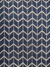 New Hand Knotted Blue Modern 9x12 Moroccan Trellis Oriental Area Rug Wool Carpet