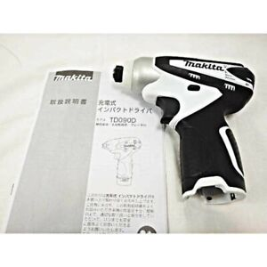Makita TD090DZW Cordless Impact Driver 10.8V White Body Only Japan with Tracking