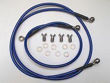 Bremsleitung Yamaha DT 125 - Bj. 1988-2003  vorne + hinten - blau